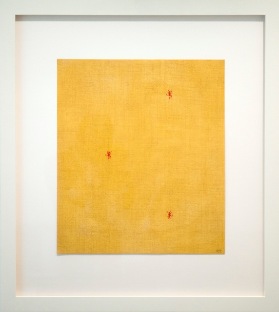 , 'No title (three devils on yellow),' 1997, Gagosian