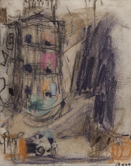 , 'Tenement Corner, Townhead,' 1958-1960, The Scottish Gallery