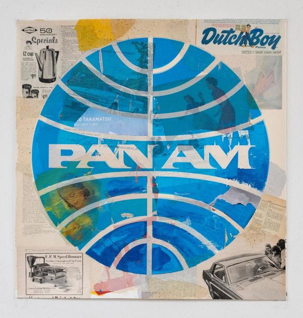 , 'Pan Am (Dutch Boy),' 2018, Alpha 137 Gallery