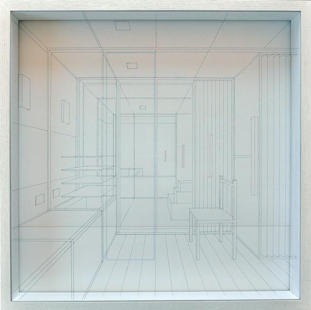 , 'Libration (100x100),' 2016, The Flat - Massimo Carasi