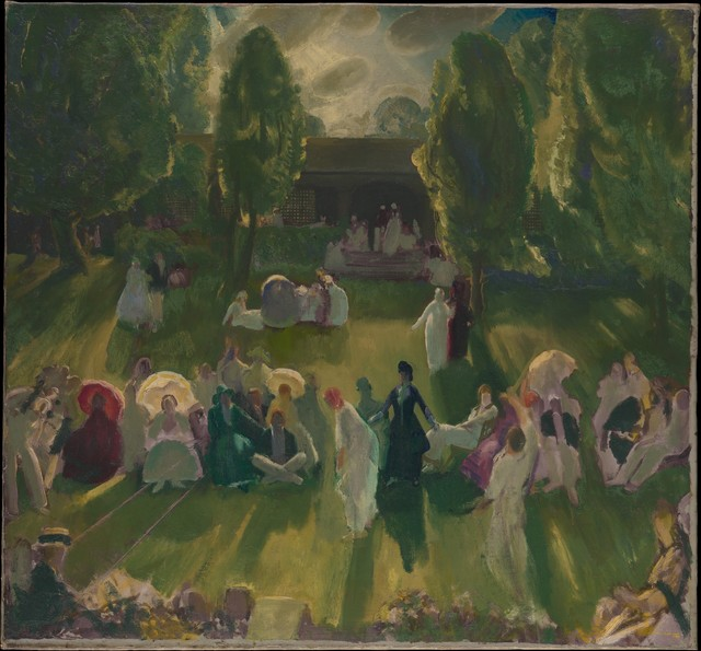 George Wesley Bellows, 'Tennis at Newport', 1919, The Metropolitan Museum of Art