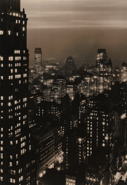 , 'New York Skyline at Dusk,' ca. 1935, Keith de Lellis Gallery