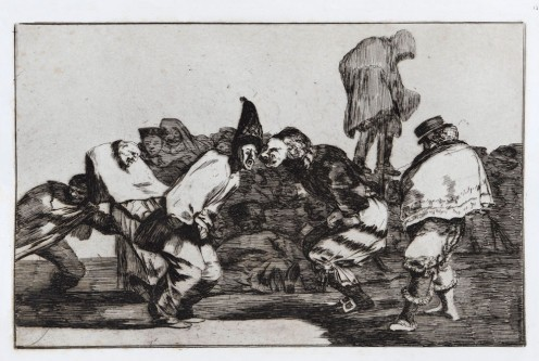 , 'Alegrias Antruejo, que Manana Seras Ceniza,' ca. 1816, Brook Gallery