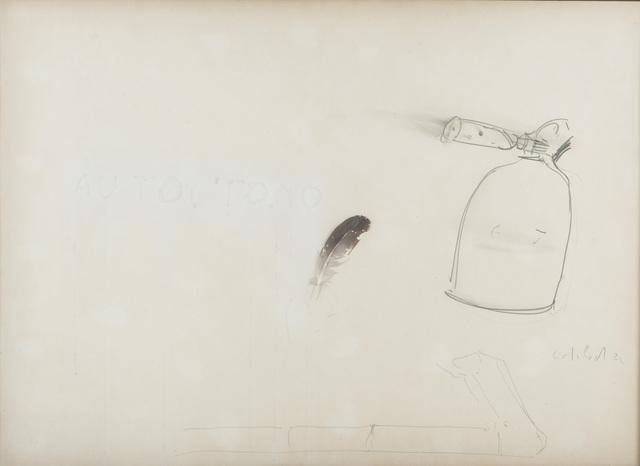 Pier Paolo Calzolari, 'AUTOCTONO', 1972, Studio Guastalla