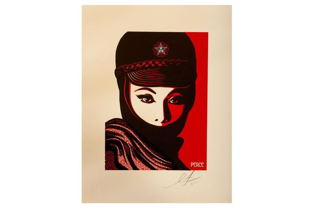 Shepard Fairey, 'Mujer Fatal', 2007, Chiswick Auctions