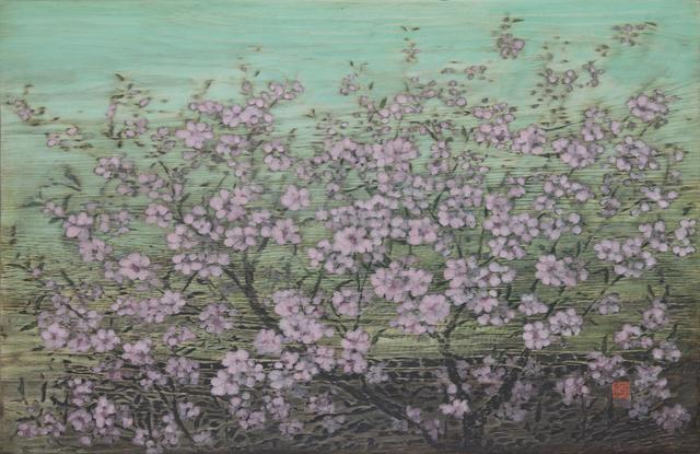 , 'Red Blossom,' 2016, Artflow