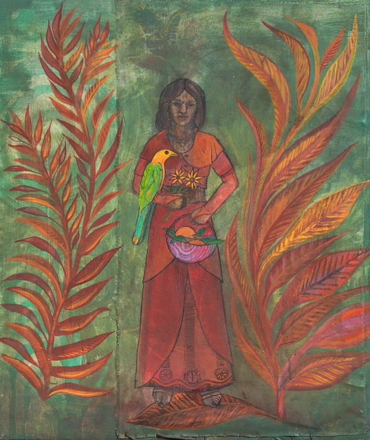 Pascale Monnin, 'The Woman with the Parrot', 2016, PIASA