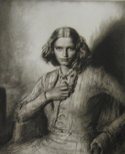 Gerald Leslie Brockhurst, 'Jeunesse Dor'ee (Kathleen Nancy Woodward)', 1942, Paramour Fine Arts
