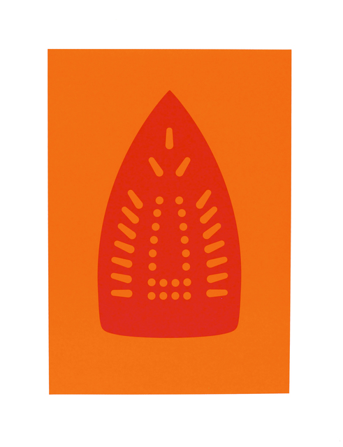Willie Cole, 'Complementary Soles (Red/Orange)', 2012, Highpoint Editions