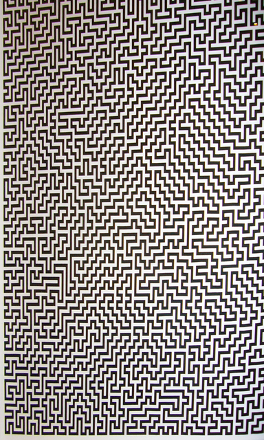 , 'Single-Line Labyrinths 2,' 2007, Collectors Contemporary