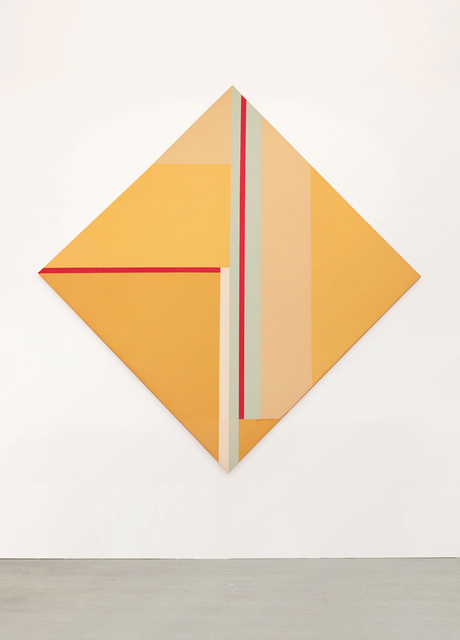 , 'Yellow Diamond with Red and Blue,' 1977, W. Alexander