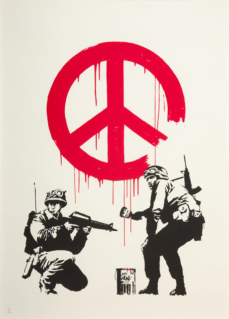 Banksy, 'CND Soldiers', 2005, Heritage Auctions
