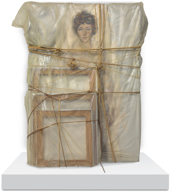 Christo, 'Portrait of Judith Lieb', 1969, Annely Juda Fine Art