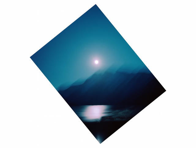 , '51°14.851 N 115°30.037 W Moonrise Banff National Park,' 2015, Kopeikin Gallery