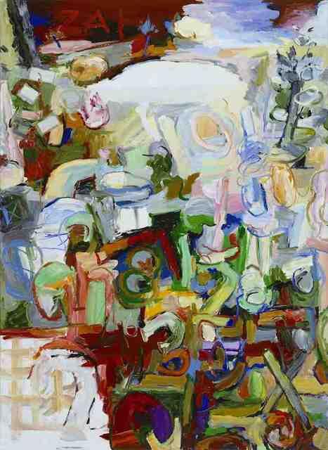 , 'Zahlenfluss,' 2008, G2 Kunsthalle