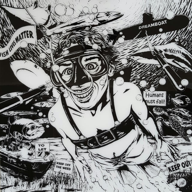 """, '"""" Taking the Bait """",' , Art Eye Gallery"""