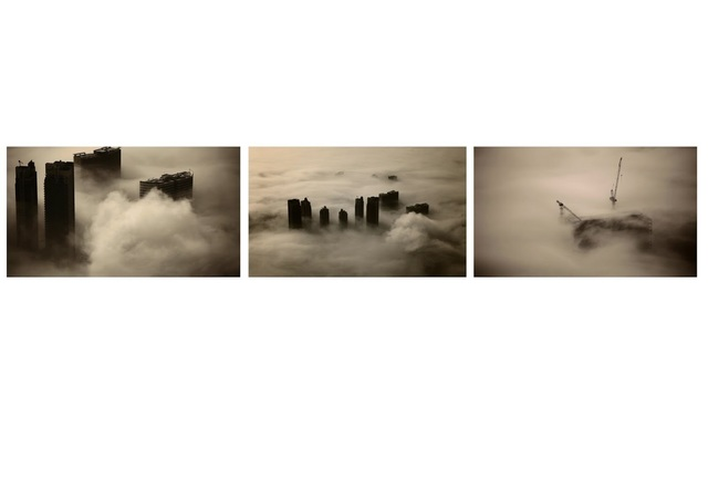 , 'The Floating World–Dubai Triptych,' 2013, Anita Beckers