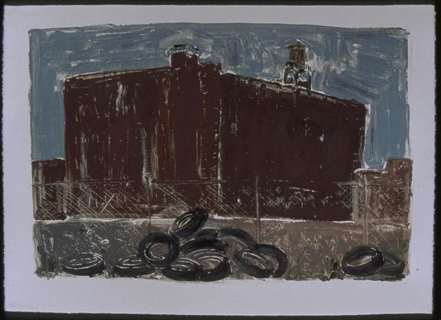 , 'Tire Dump, American Street,' 1991, InLiquid