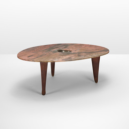 Important and Unique Dining Table for Mr. & Mrs. Milton Greene