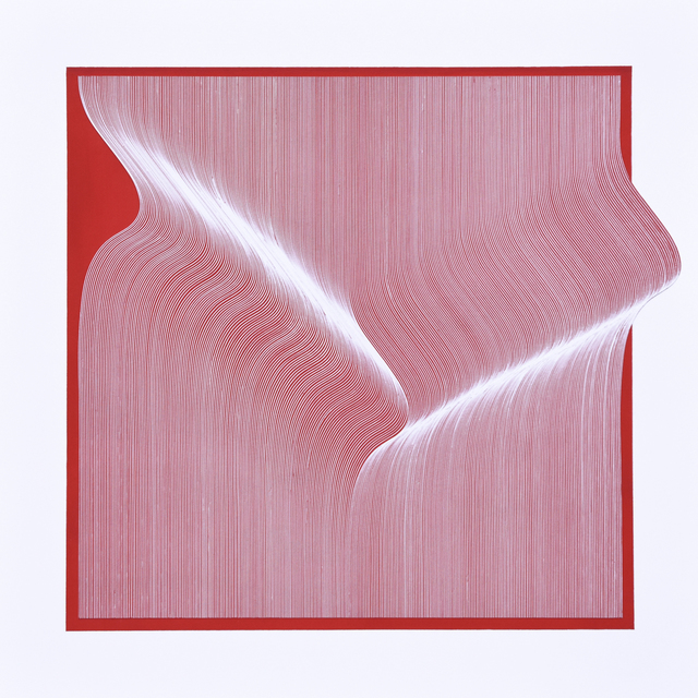 Roberto lucchetta, 'White Red Surface', 2019, Contempop Gallery