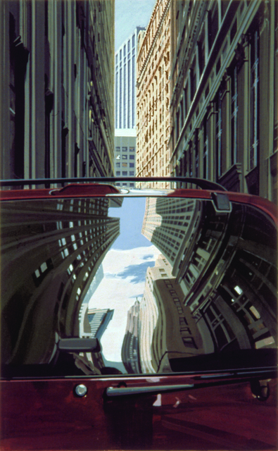 , 'Downtown - Reflections,' 2001, Marlborough Gallery