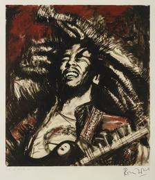Ronnie Wood, 'Get up Stand Up I (Red),' , Forum Auctions: Editions and Works on Paper (March 2017)