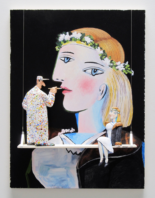 , 'GMIA: Picasso - Portrait of Marie Therese Walter with Garland,' , Water Street Gallery