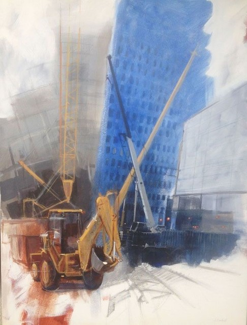 , 'St. Paul Street Cranes,' 2014, Ro2 Art