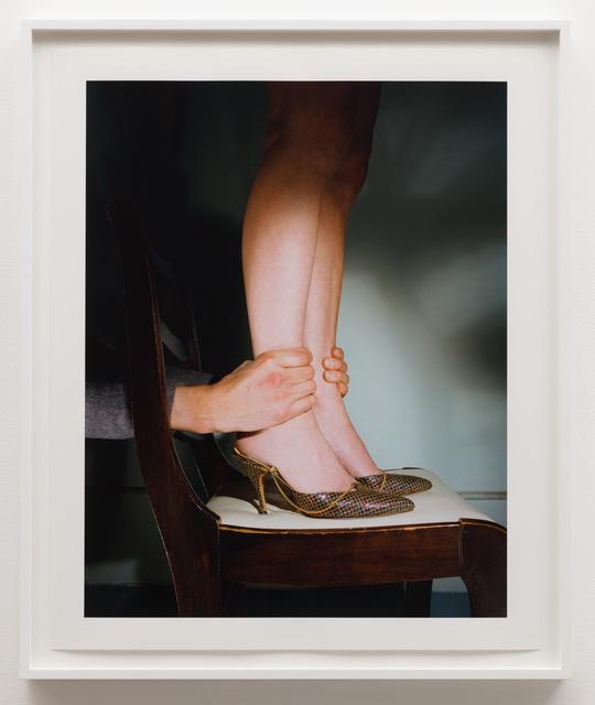Jo Ann Callis, 'Hands on Ankles', ca. 1976, Photography, Archival pigment print, Anat Ebgi