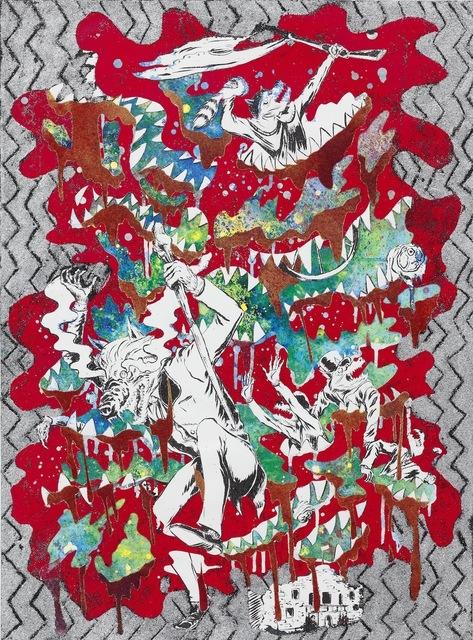 Mark Thomas Gibson, 'War Dance (Red)', 2013, Fredericks & Freiser