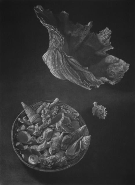 Judith Rothchild, 'Pacifique Sud', 2016, Print, Mezzotint, Childs Gallery