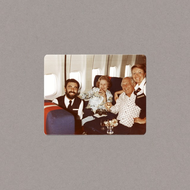 , 'TWA First Class with Passengers,' ca. 1984 (printed 2013) , Jane Lombard Gallery