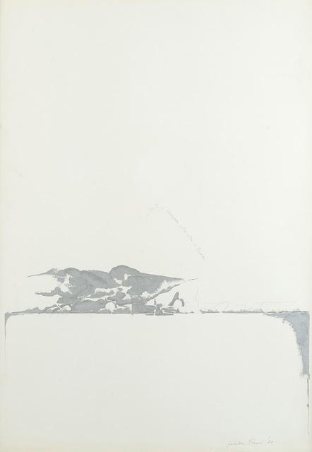Giosetta Fioroni, 'Vento di scirocco sulla città di Roma', 1971, Finarte