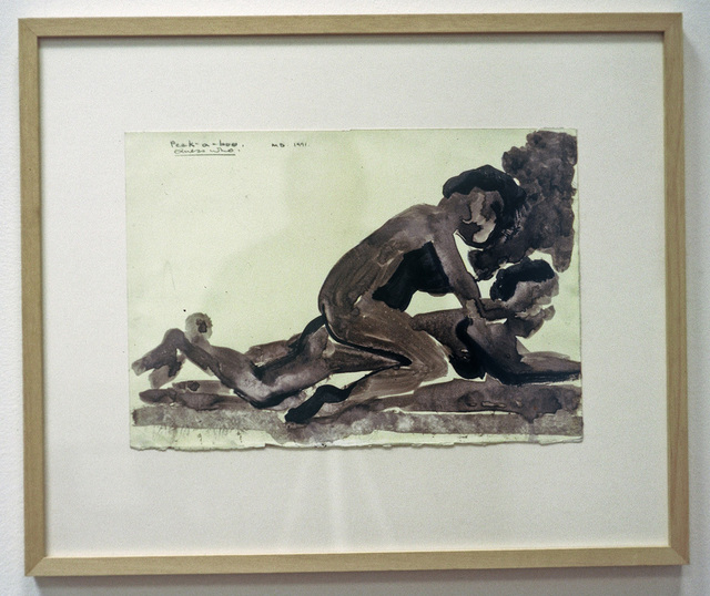 , 'Peek-a-boo, Guess who,' 1991, Galerie Isabella Czarnowska