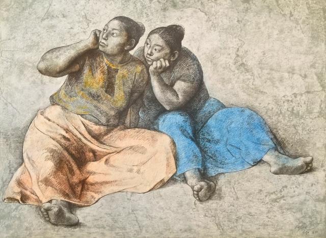 Francisco Zúñiga, 'Juchitecas II', 1981, MLA Gallery