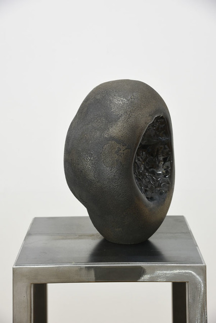 , 'Uncertain Black Stone 2,' 2016, Transit