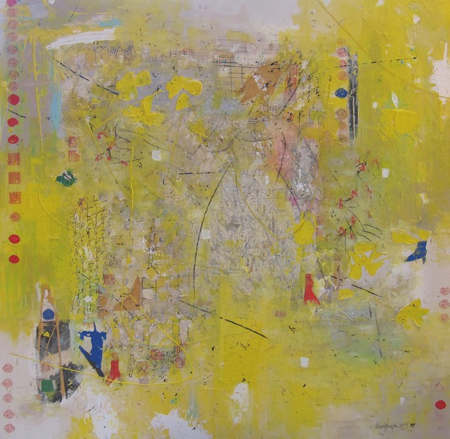 , 'Dancing with Carolina Jessamine,' 2015, Tranter-Sinni Gallery