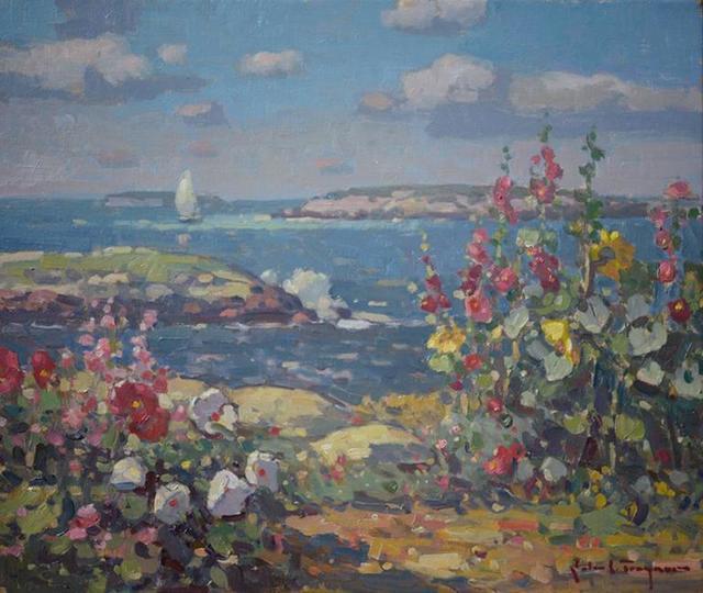 , 'Island Flowers,' 2016, J. Cacciola Gallery