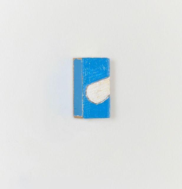 Cordy Ryman, 'Thumb West #1', 2020, Painting, Acrylic on wood, Freight + Volume