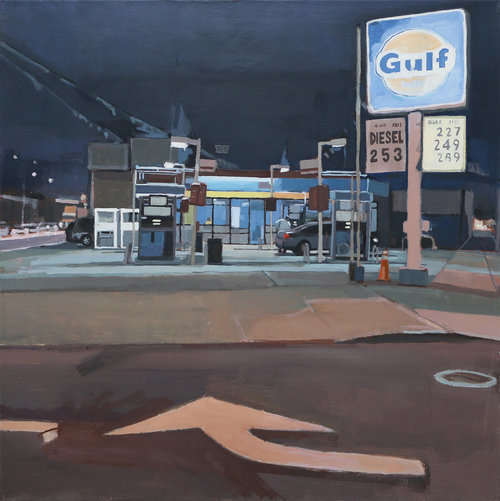 Aaron Hauck, 'Gas Station with Directions', 2016, Deep Space Gallery