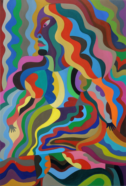 , 'Frau im Mond I,' 2012, Galerie Kleindienst