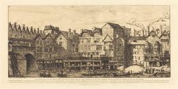 Charles Meryon, 'Partie de la Cité vers la fin du XVIIe siècle (View of the City of Paris Towards the Close of the XVIIth Century)', 1861, Print, Etching, National Gallery of Art, Washington, D.C.