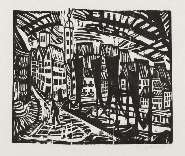 , 'Stralsund,' 1912, Galerie St. Etienne