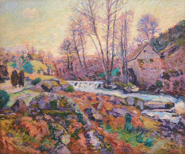, 'Ecluse du Moulin Bouchardon, Crozant, ca. 1895,' 1895, Guarisco Gallery