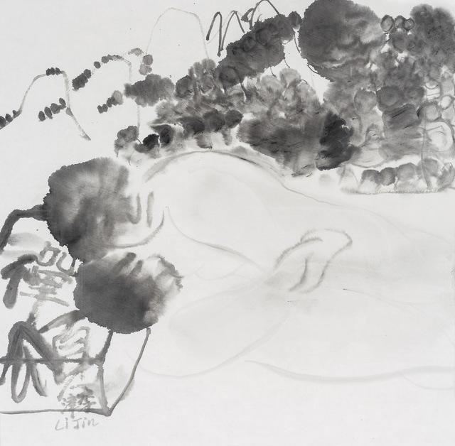 , 'Morning Practice in California 加州晨课,' 2017, Ink Studio