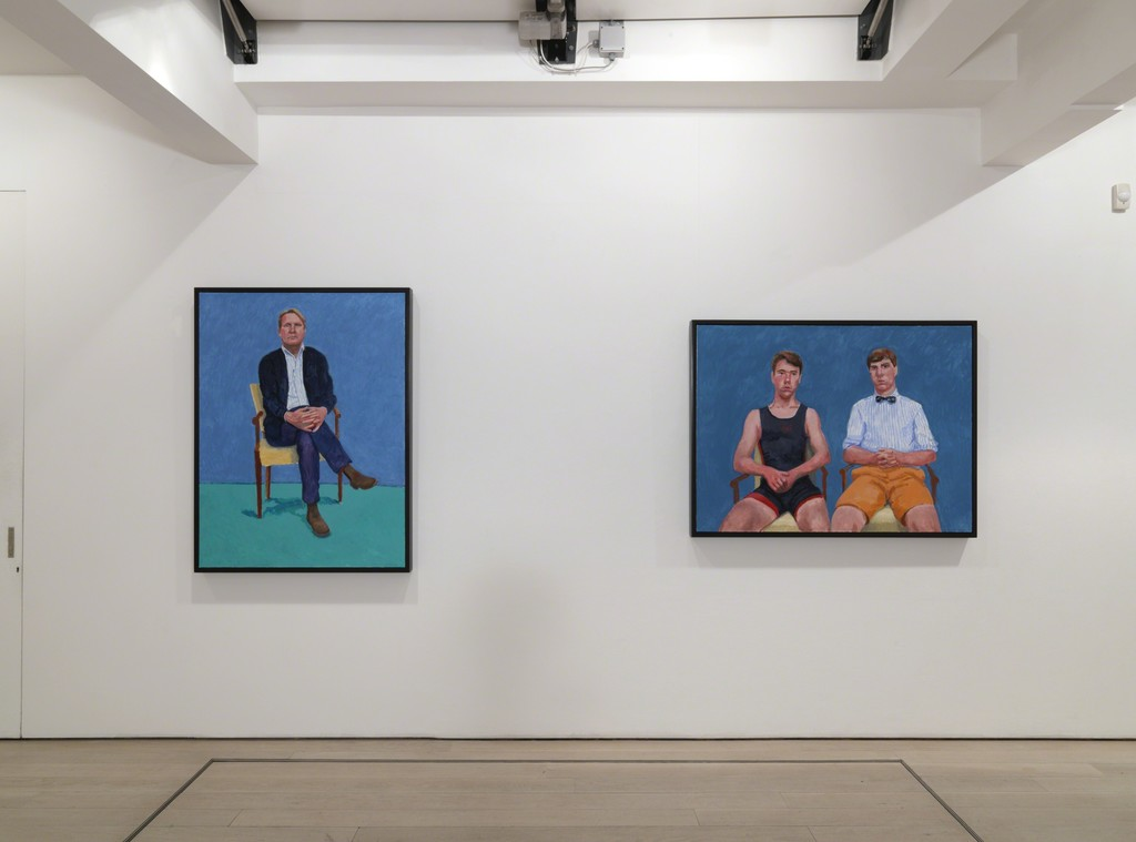 David Hockney: Painting and Photography installation at Annely Juda Fine Art, London