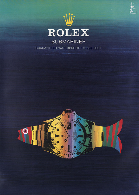 Celestino Piatti, 'ROLEX / SUBMARINER', Circa 1970s, Swann Auction Galleries