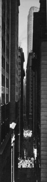 Berenice Abbott, 'Exchange Place', Alan Klotz Gallery