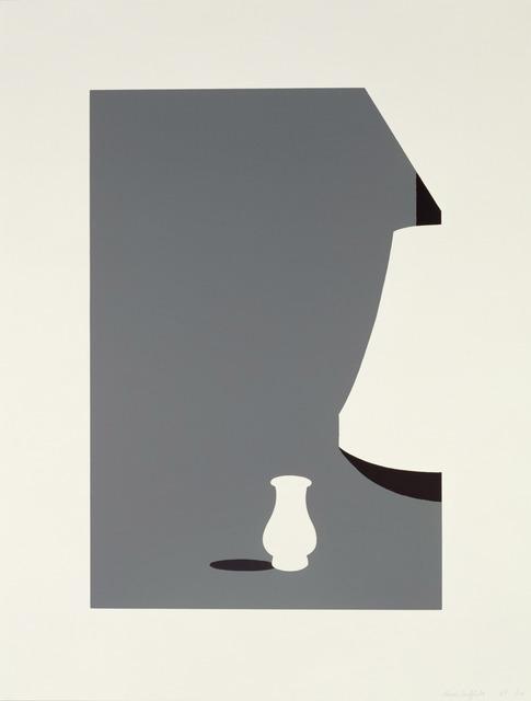 Patrick Caulfield, 'Lamp and Kuan Ware', 1990, Cristea Roberts Gallery