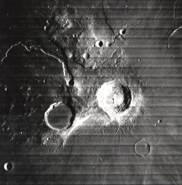 , 'The Moon - Crater Aristarchus, Schroter's Valley,' 1967, Charles Schwartz Ltd.